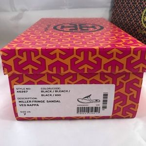 Tory Burch Shoes - NEW Tory Burch Miller Sandals Size 7